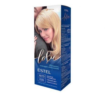 Стойкая крем-краска для волос 10/73 - Бежевый блондин