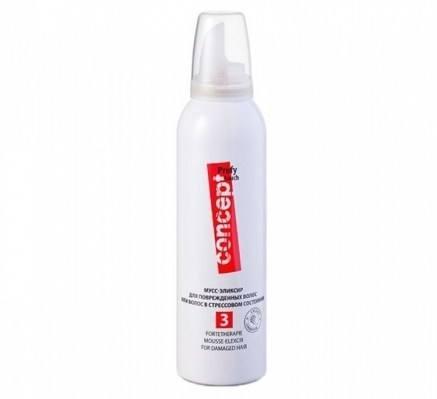Мусс-эликсир для поврежденных волос или волос в стрессовом состоянии