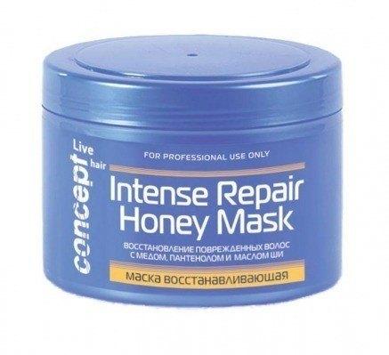 Восстанавливающая маска с медом для сухих и поврежденных волос