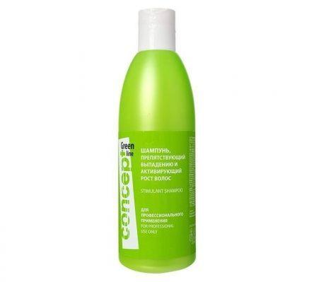 Шампунь, препятствующий выпадению и активирующий рост волос
