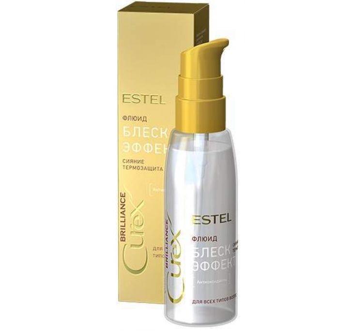 Флюид-блеск c термозащитой для всех типов волос