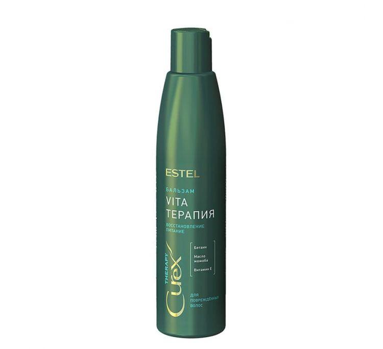 Крем-бальзам для сухих, ослабленных и поврежденных волос