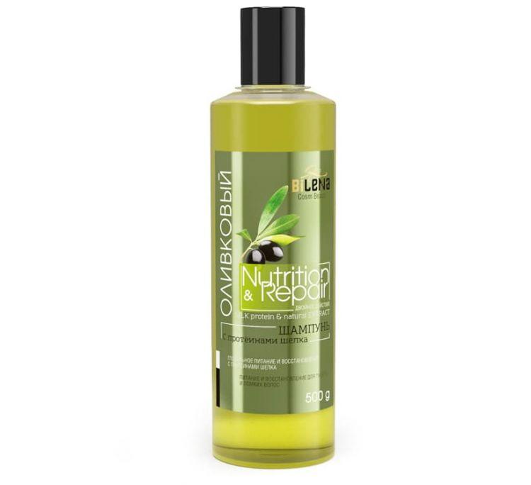 Шампунь «Оливковый с протеинами шелка»