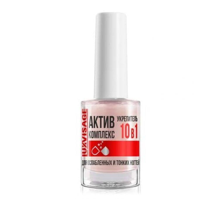 Укрепитель АКТИВ КОМПЛЕКС 10 в 1 для ослабленных и тонких ногтей