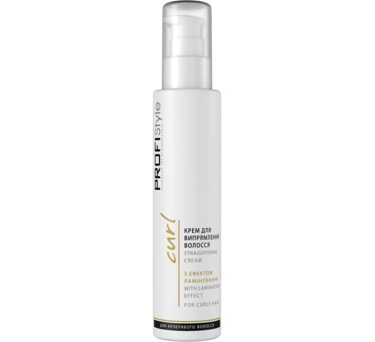 Крем для выпрямления волос с эффектом ламинирования