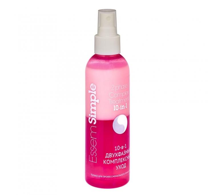 Двухфазный спрей комплексный уход 10-в-1 для волос