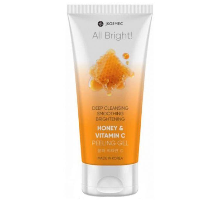 Пилинг-скатка с медом и витамином С