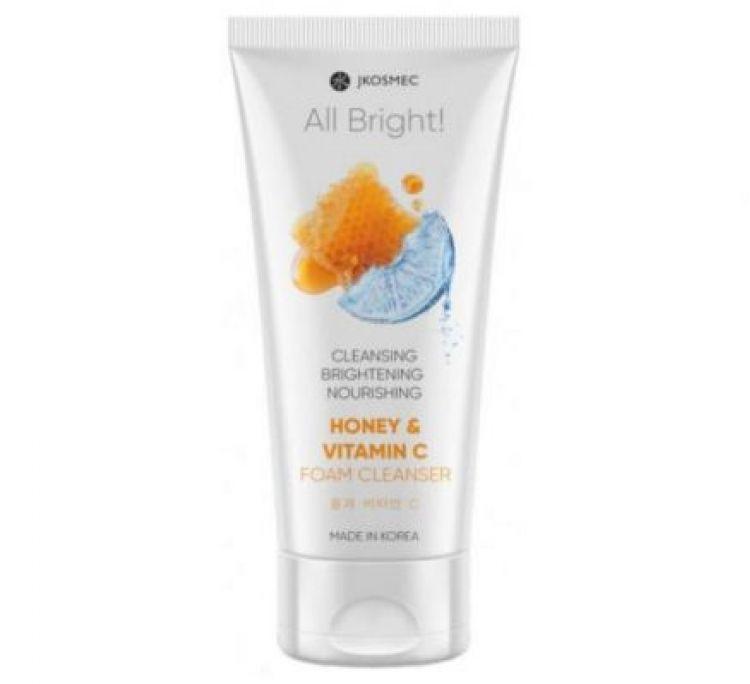 Ежедневная пенка для умывания с медом и витамином С