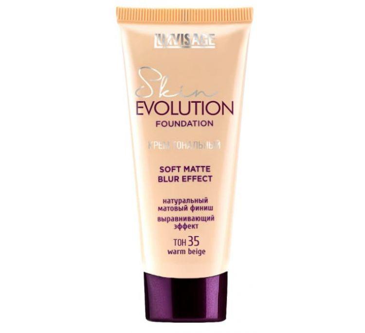 Крем тональный  Skin EVOLUTION soft matte blur effect , тон 35  warm beige