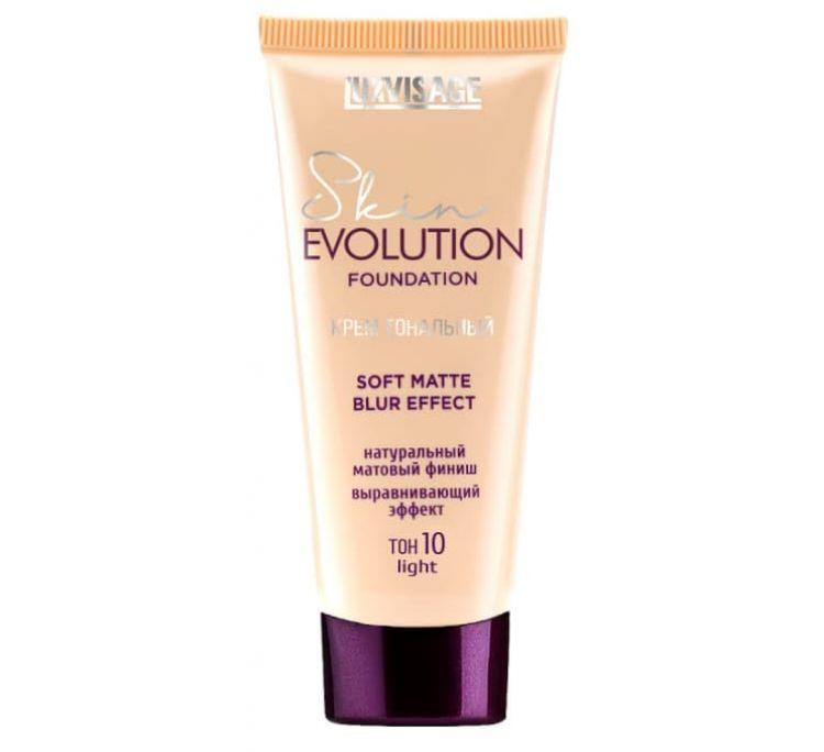 Крем тональный  Skin EVOLUTION soft matte blur effect , тон 10 light