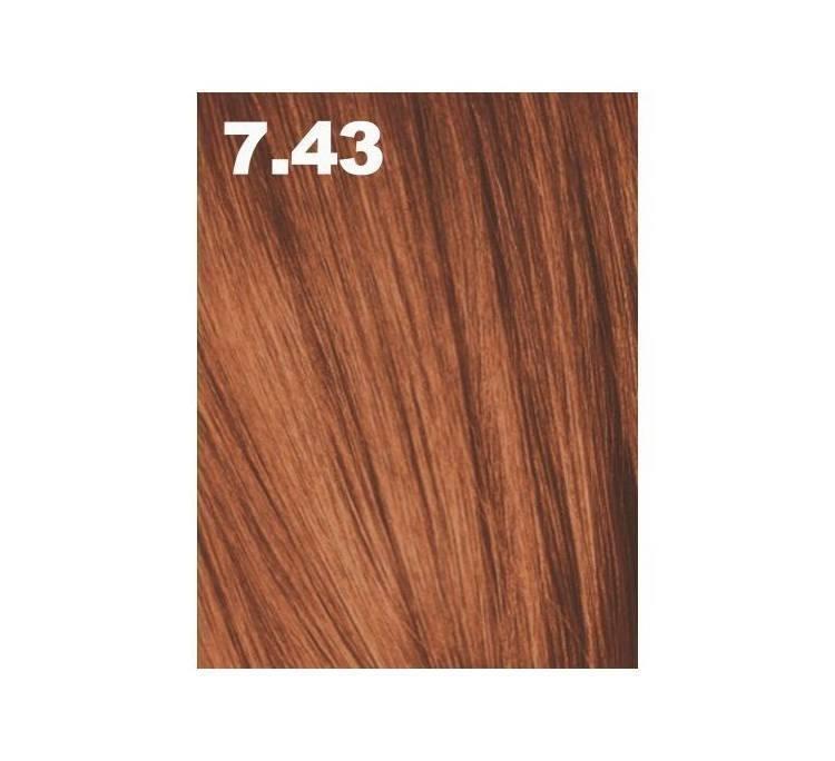 Краска для волос аммиачная PCC 7.43 Средний блондин медный золотистый