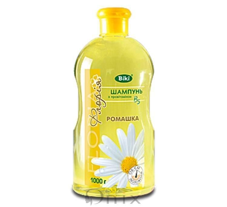 Шампунь Ромашка для нормального и сухих волос Floria
