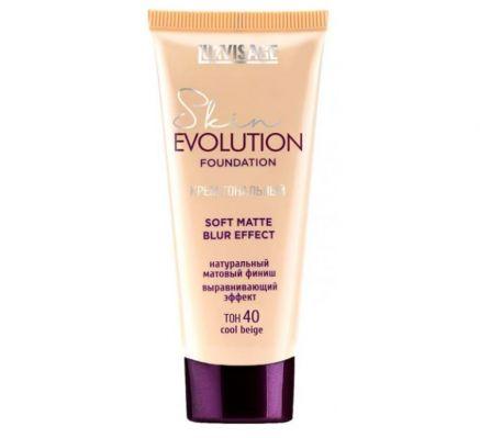 Крем тональный  Skin EVOLUTION soft matte blur effect , тон 40  cool beige