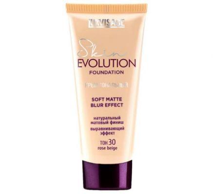 Крем тональный  Skin EVOLUTION soft matte blur effect , тон 30 rose beige
