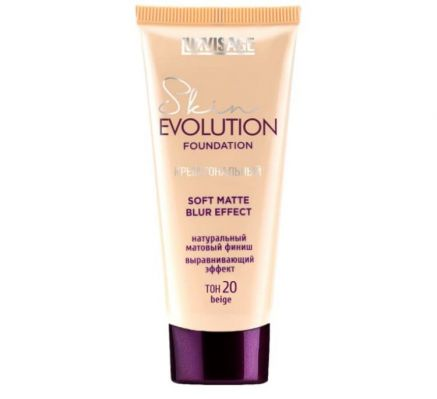 Крем тональный  Skin EVOLUTION soft matte blur effect , тон 20 beige