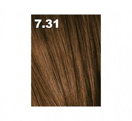 Краска для волос аммиачная PCC 7.31 Средний блондин золотистый пепельный