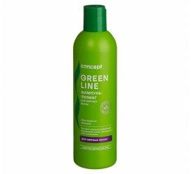 Шампунь-пилинг для жирных волос
