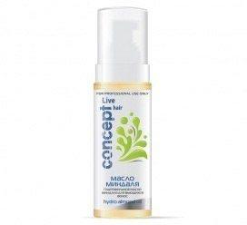 Гидрофильное масло миндаля для вьющихся волос для профессионального применения
