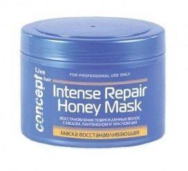 Маска восстанавливающая с медом для сухих и поврежденных волос