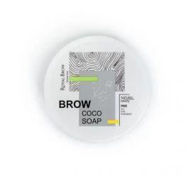 Фиксатор для бровей Brow soap с экстрактом кокоса
