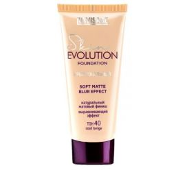 Крем тональный  Skin EVOLUTION soft matte blur effect , тон 40  cool beige