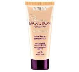 Крем тональный  Skin EVOLUTION soft matte blur effect , тон 35  warm beige