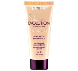 Крем тональный  Skin EVOLUTION soft matte blur effect , тон 30 rose beige