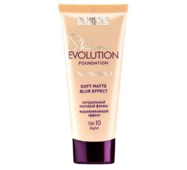 Крем тональный  Skin EVOLUTION soft matte blur effect , тон 10 light